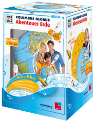 "COLUMBUS Junior-Set ""Was Ist Was"" TING Kinderglobus, TING, 34cm"
