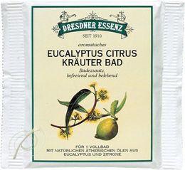 Dresdner Essenz, Kräuter Bad Eucalyptus Citrus, Display à 10 Stk
