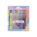 PAPERMATE 1985617 Faserschreiber FLAIR Set Candy Pop 24 Stück